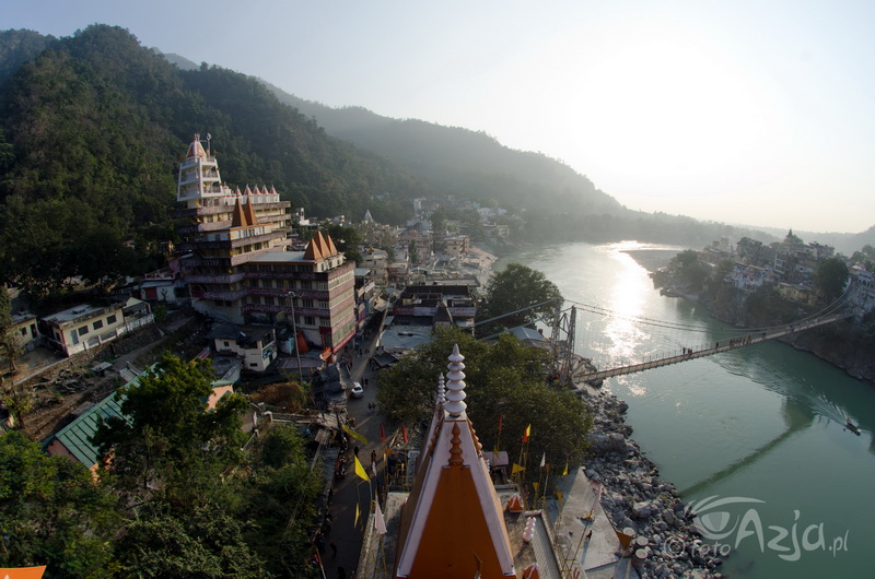 Ganges w Rishikesh