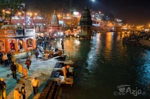 Ganga Arathi wHaridwar