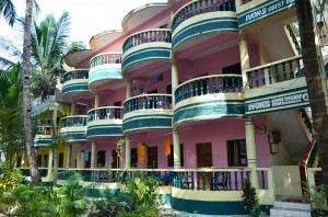 Pensjonat wArambol, Goa