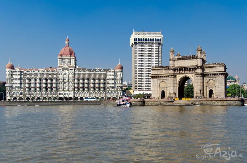 Brama Indii i Hotel Taj Mahal w Mumbai