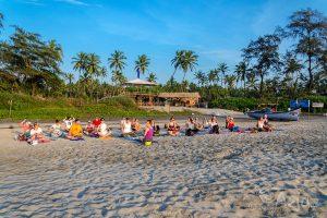 Joga wIndiach – relaks, plaża ipraktyka jogi