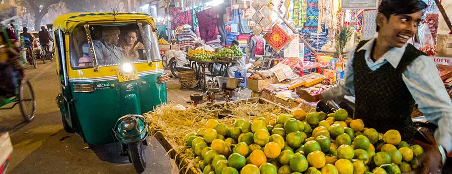 Gwarne bazary Old Delhi