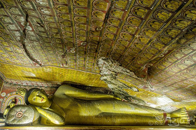 buddyjskie groty w Dambulla
