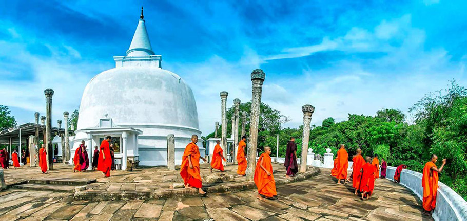 Thuparama Stupa, Anuradhapura