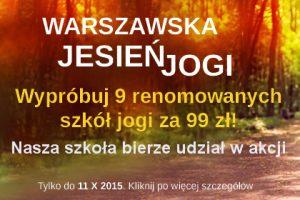 Warszawska Jesień Jogi
