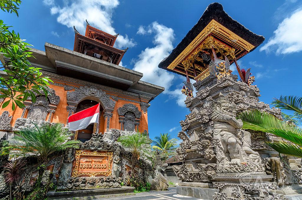 Puri Saren – Pałac Królewski, Ubud, Bali