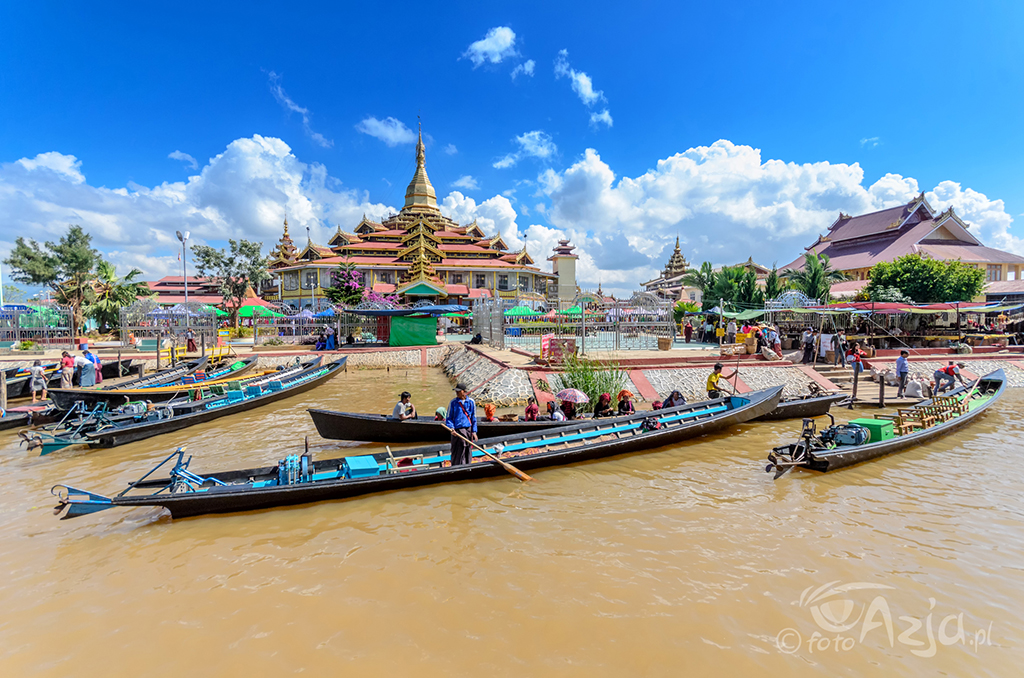 Świątyni Phaung Daw Oo Paya, Jezioro Inle