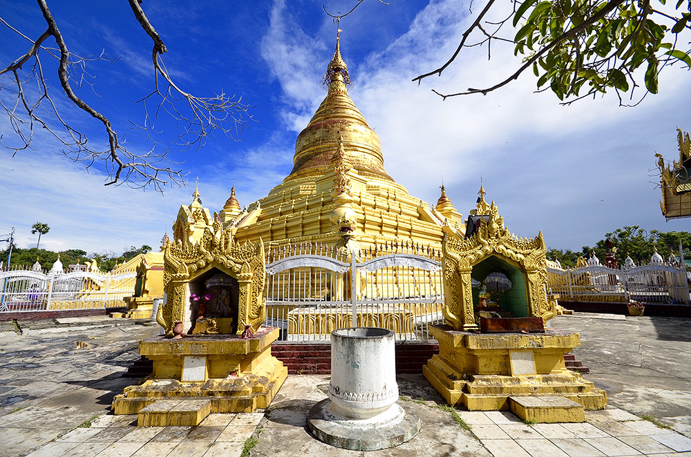 Kuthodaw Pagoda, Mandalaj