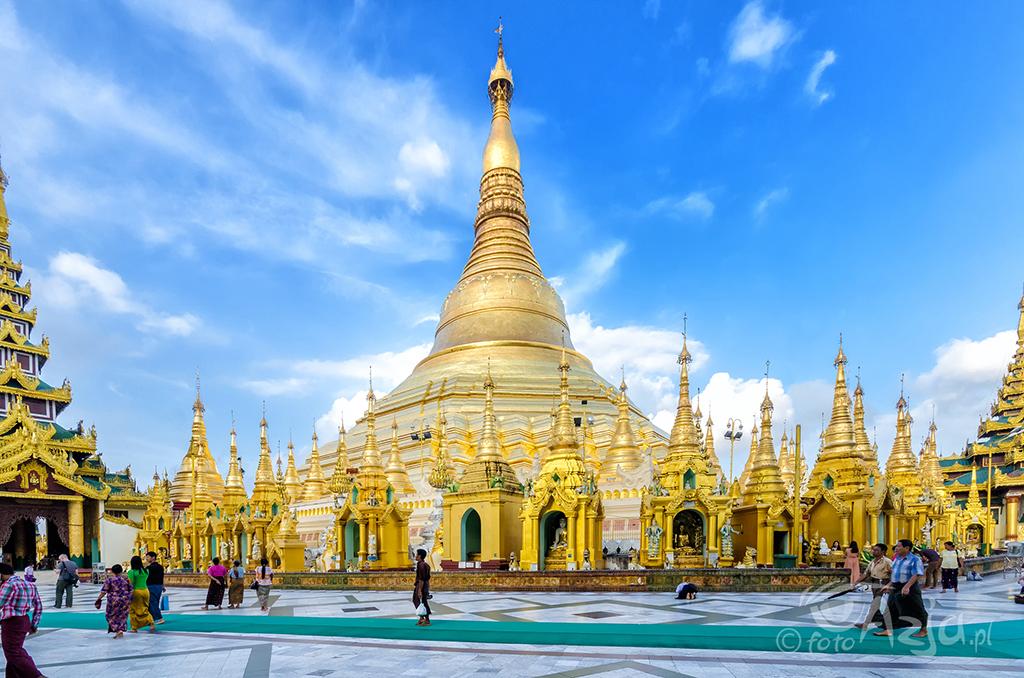 Pagoda Szwedagon w Rangun