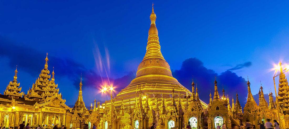Pagoda Szwedagon wRangun