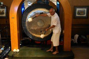 Restorative joga wdźwiękach gongów