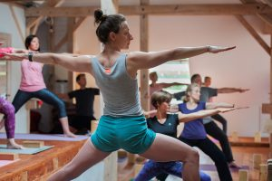 Wakacyjny kurs jogi dla początkujących wPrusewie