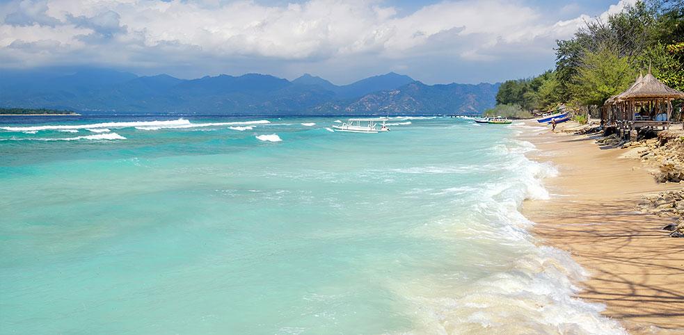 Plaża na Gili
