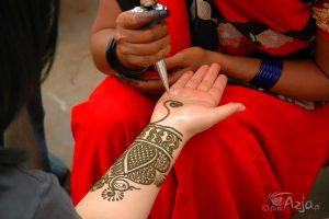 Zdobienie henną, Dźajpur
