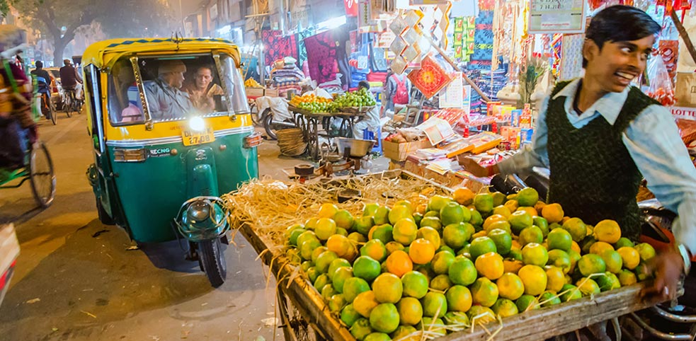 Bazary Delhi
