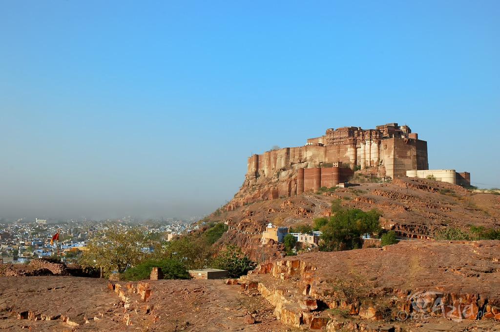 Forteca Mehrangarh w Dźodhpurze
