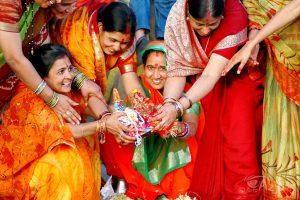 Indie zjogą: kolory Radżastanu