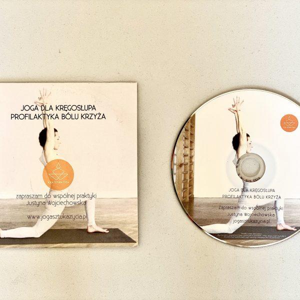 Joga dla kręgosłupa – płyta dvd