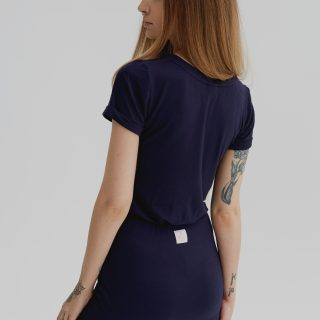 T-SHIRT BASIC navy blue