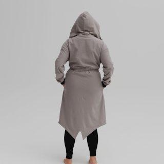 Płaszcz dresowy HOODIE