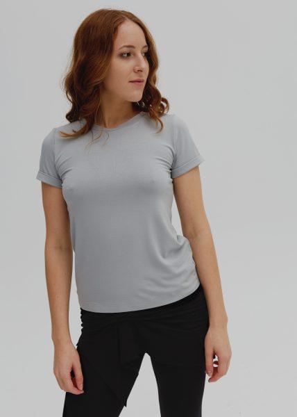 T-SHIRT BASIC  aqua grey