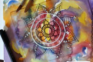 Malowanie mandali – odkryj swoją kreatywność